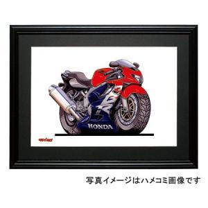イラスト CBR600F|motorparade