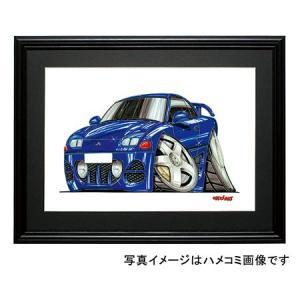 イラスト GTO(青)|motorparade