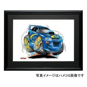 イラスト GCインプレッサ(WRC・ジャンプ)|motorparade