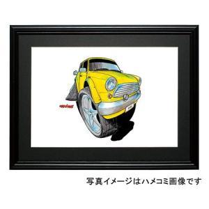 イラスト ミニ(黄・前)|motorparade