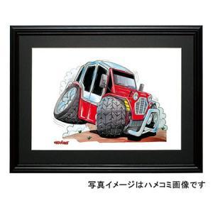 イラスト ミニ・モーク(赤)|motorparade