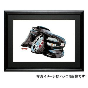イラスト プレリュード(BB4・黒)|motorparade