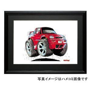 イラスト X90(赤)|motorparade