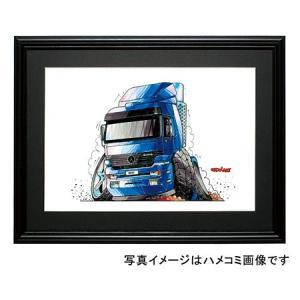 イラスト メルセデス・トラック(アクトロス)|motorparade