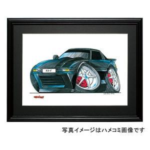 イラスト RX−7(SA・黒)|motorparade
