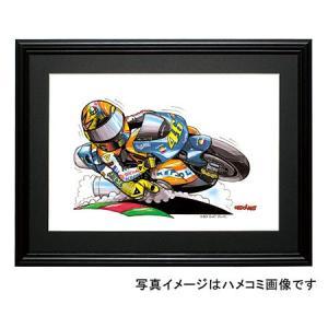 イラスト ロッシ MotoGP(2002)|motorparade