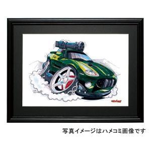 イラスト ジャガーXK8(007)|motorparade