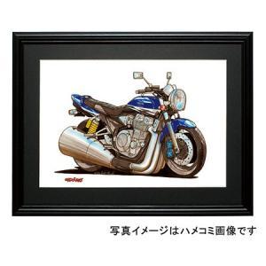 イラスト XJR-1300(青)|motorparade
