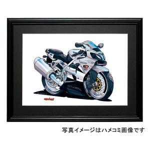 イラスト カワサキNinja ZX-6R(銀)|motorparade