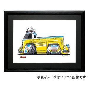 イラスト タイプII(PICKUP・黄) motorparade