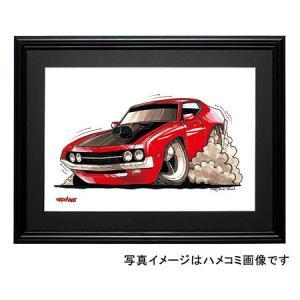 イラスト フォード・トリノ|motorparade