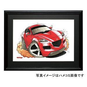 イラスト RX−8(赤)|motorparade