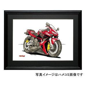 イラスト CBR 600RR(赤)|motorparade