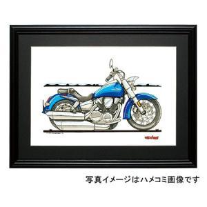 イラスト VTX1300(青)|motorparade