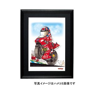 イラスト C・ストーナー(MotoGP2007)|motorparade