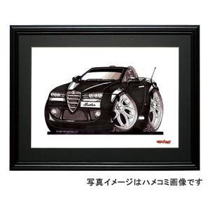 イラスト アルファ・スパイダー(黒)|motorparade