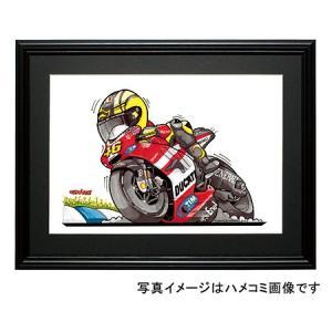 イラスト V・ロッシ(MotoGP2011)|motorparade