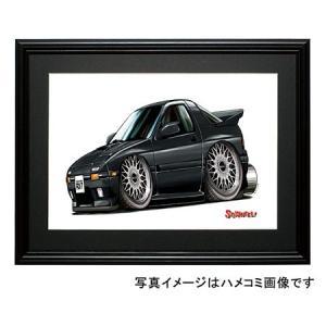 イラスト RX−7・FC(黒)|motorparade