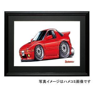 イラスト RX−7・FC(赤)|motorparade