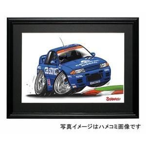 イラスト R32 GT-R(カルソニック)|motorparade