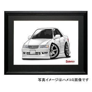 イラスト マークII(JZX100・白)|motorparade