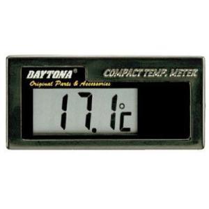 ☆DAYTONA/63487☆  ◆コンパクトなボディサイズのデジタル水温計。樹脂ブラック仕様。  ...