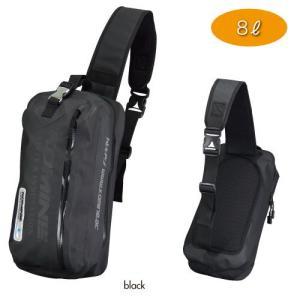 さっと背負える耐水仕様※ワンショルダーバッグ。 日常使いに適した8Lサイズ。  ※防水性の高い止水フ...
