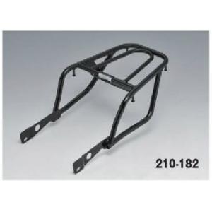キジマ リアキャリア KLX125/Dトラッカー125 ブラック 210-182 motostyle