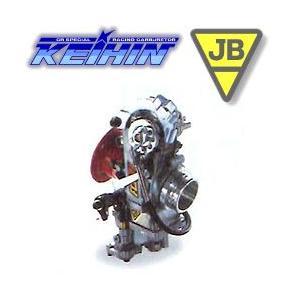 JB-POWER ケイヒン FCRキャブレター スズキ NZ250 : H/Z チョーク付 37φ BITO R&D 301C37-303|motostyle