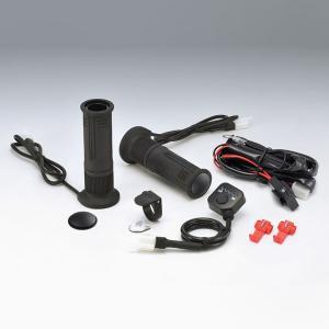 キジマ グリップヒーター GH08 プッシュ式スイッチタイプ ハンドル径22.2mm/グリップ長120mm 304-8203 motostyle