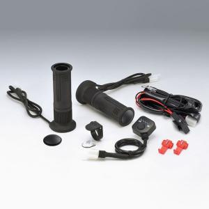 キジマ グリップヒーター GH08 プッシュ式スイッチタイプ ハンドル径22.2mm/グリップ長130mm 304-8204 motostyle