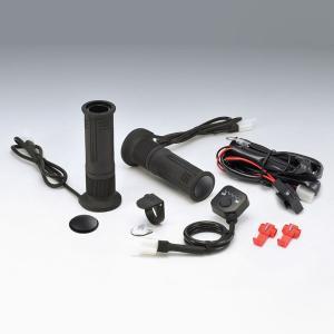 キジマ グリップヒーター GH08 プッシュ式スイッチタイプ ハンドル径22.2mm/グリップ長115mm 304-8206 motostyle
