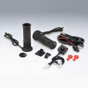 キジマ グリップヒーター GH08 ダイヤル式スイッチタイプ ハンドル径22.2mm/グリップ長130mm 304-8208 motostyle