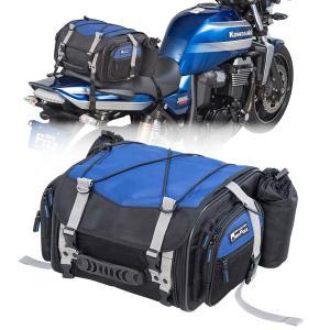タナックス モトフィズ ミニフィールドシートバッグ ネイビーブルー MFK-219 容量可変タイプ(19〜27L)|motostyle