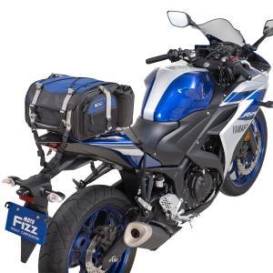 タナックス モトフィズ ミニフィールドシートバッグ ネイビーブルー MFK-219 容量可変タイプ(19〜27L)|motostyle|02