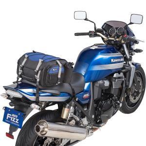 タナックス モトフィズ ミニフィールドシートバッグ ネイビーブルー MFK-219 容量可変タイプ(19〜27L)|motostyle|03