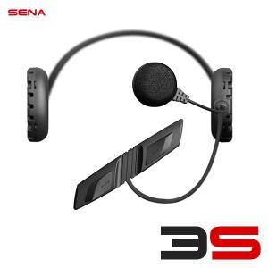 SENA(セナ) 3S バイク用インターコム ケーブル型マイクキット(シングルパック) SENA 3S-W 041001CC 日本国内正規代理店品|motostyle