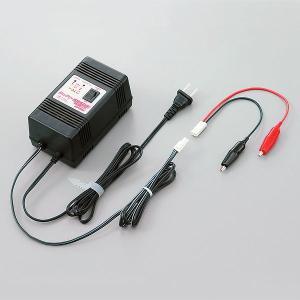 維持充電器とワニグチクリップのセット。 【バッテリーに直接接続する場合はこちらが便利です。】 ●家庭...