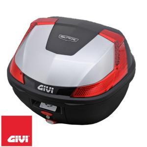GIVI 78035 B37シリーズ テールボックス(トップケース) 37L シルバー塗装 汎用ベー...