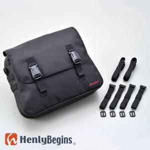 HenlyBegins サドルバッグMIL ブラック/10L 92615 デイトナ ヘンリービギンズ