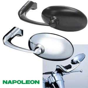 タナックス ナポレオン バレンクラシックミラー ネジ径10mm|motostyle