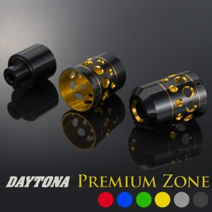 デイトナ バーエンドキャップ ホロー PREMIUM ZONE|motostyle