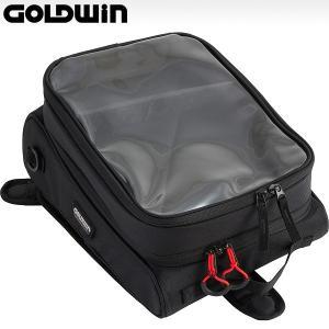 ゴールドウィン GSM17313 スポーティー タンクバッグ 10(容量6〜10L/マグネット式)|motostyle