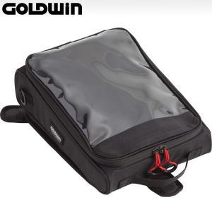 ゴールドウィン GSM17314 スポーティー タンクバッグ 6(容量4〜6L/マグネット式)|motostyle
