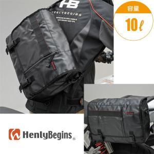 HenlyBegins メッセンジャー サイドバッグ Lサイズ(10L) デイトナ ヘンリービギンズ|motostyle