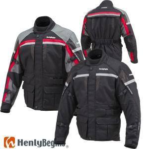 HenlyBegins ツーリングロングジャケット HBJ-016 防寒 ウインタージャケット motostyle