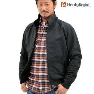 Henly Begins(ヘンリービギンズ) 64スイングトップ(ブラック) HBJ-047 motostyle