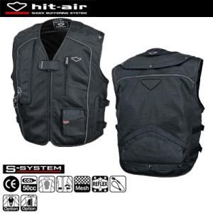 hit-air MC5 エアバッグメッシュベスト 無限電光 ヒットエア エアバッグシステム搭載 オートバイ乗車用|motostyle