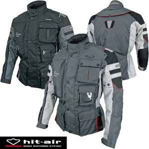 hit-air Motorrad-2 エアバッグジャケット エンデューロモデル 無限電光 ヒットエア エアバッグシステム搭載 オートバイ乗車用|motostyle