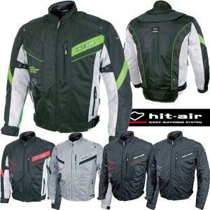 hit-air MX-7 エアバッグメッシュジャケット 無限電光 ヒットエア エアバッグシステム搭載 オートバイ乗車用|motostyle